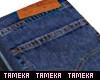 Men's Folded Jeans