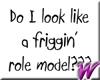 Role Model -stkr