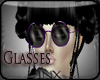 ~X~ Purple Glasses