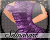 *S*Sequined Mini Purple