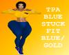 BM TPA BlueStuck Blu/Gol