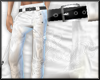 Casual white pants