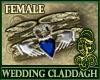 Wedding Claddagh Sapphir