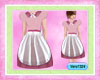~Vero~Apron Dress,Pink