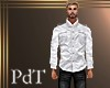 PdT White Linen Shirt M