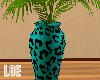 L~ Teal Vase