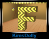 *KD* Bee Room Letter F