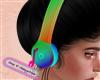 V! Rainbow Headphones