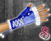 Snow Bunny Gloves Blue
