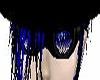 -X- blue toxic goggles