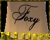 [TE]CUSTOM FOXY TATTOO