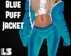 Blue Puff Jacket