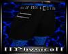 Blue snake Shorts