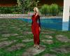 AC Red Rose Dress