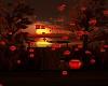 Floating lanterns red