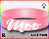 ☢! Moo Collar Pink