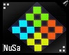 Neon Gaming Cubes