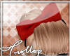 T|Side Bow| Classy Red