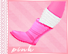 PINK- Pink Boots w/Sock