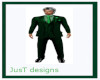 JT Full Suit Green