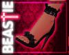 Frilly Stilettos Black