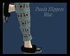 Panda Slippers Blue
