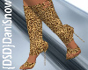 Leopard Open Toe Boot