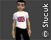 British Flag White