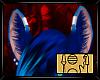 Sassy Blue Creature Ears