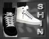 Shin Kicks B&W