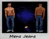 (DD) mens blue jeans