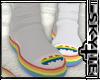 Sock Boots (Rainbow