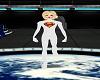 Super-Girl Boots White V1