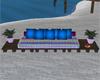 Rainbow Pallet Sofa