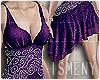 [Is] Purple Eileen Dress