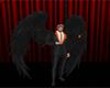 Traje demonio con alas