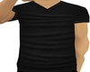 Plain Black V-Neck