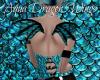 Aqua Dragon Wings