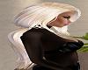 Loose Blond Ponytail