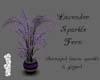 Lavender Sparkle Fern