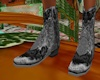 (CB)Tooled Leather Boots