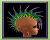 Toxic Purple Rain Mohawk