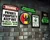 ϟ Weed Signs