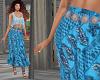 TF* BOHO BLUE skirt