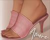 ! Pink Faux Heels