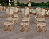 Royal Gold Wed Chairs