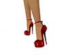 Rose heels red