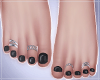 -S- Perfect Goth Feet S