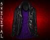 Leather Jacket / PPlaid