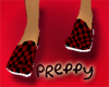 *JJ* Preppy Red Flats